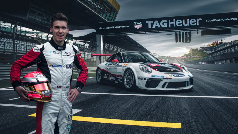 Richard Gonda v Porsche Carrera Cup Germany